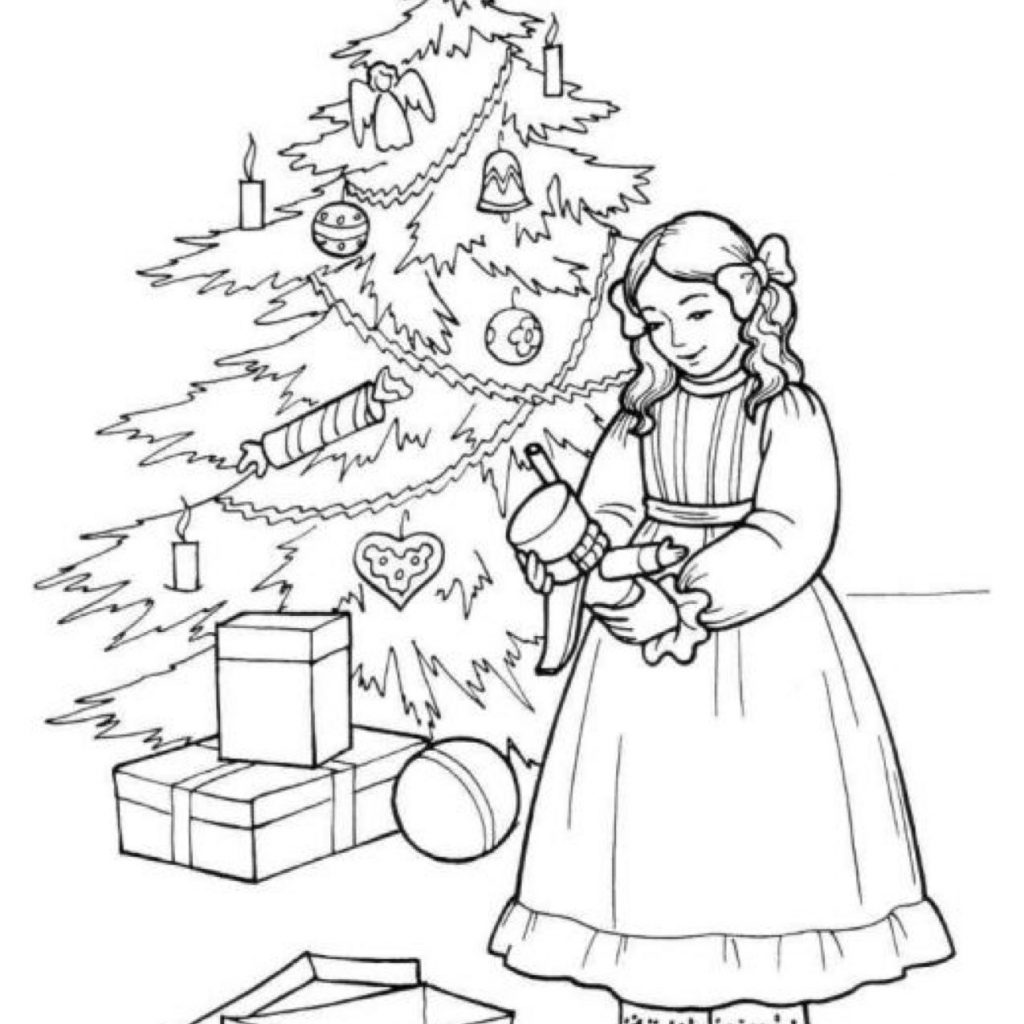 Christmas Nutcracker Coloring Pages With Clara Page Ballet