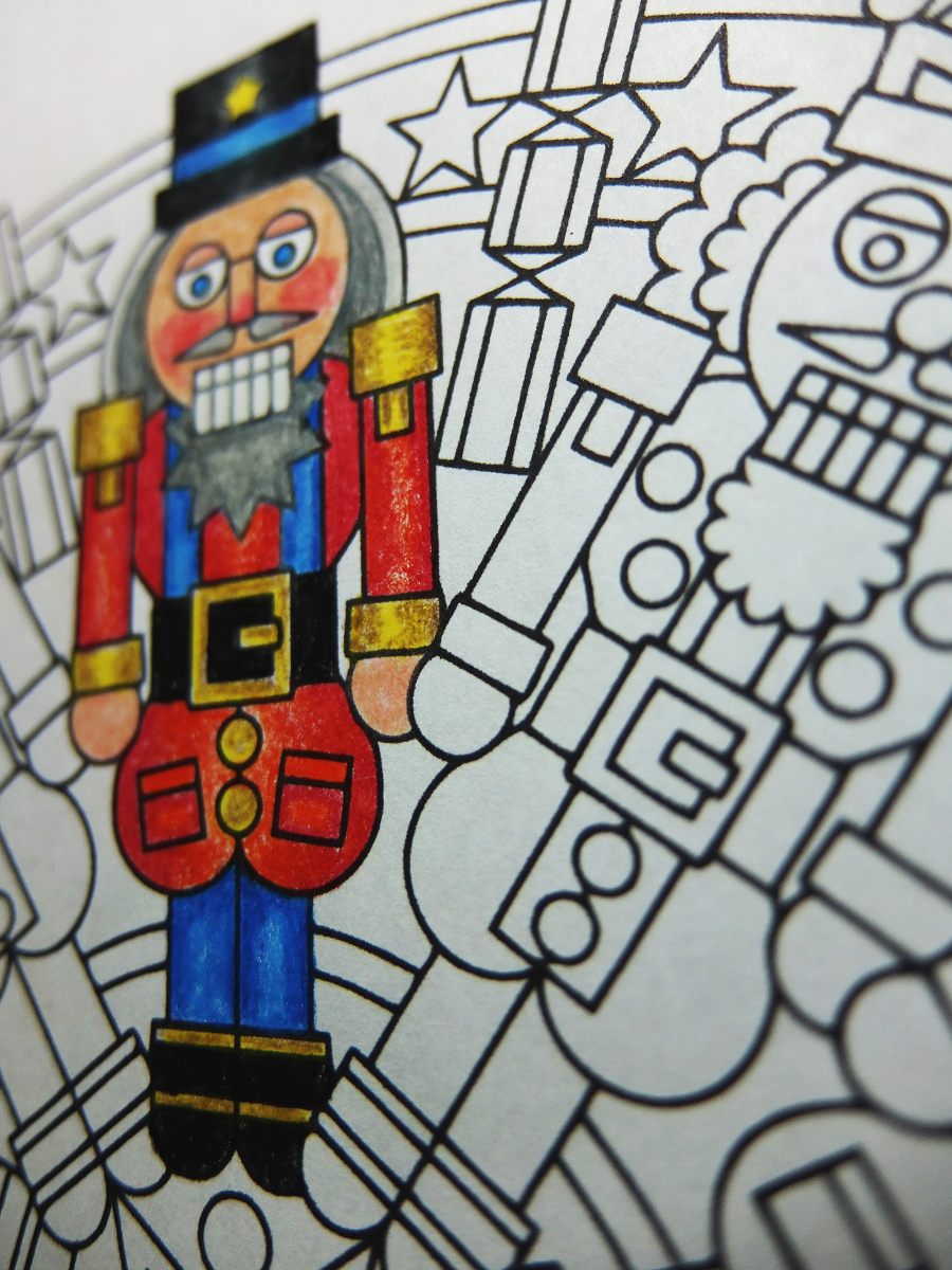 Christmas Nutcracker Coloring Pages With Crackers Page Printable