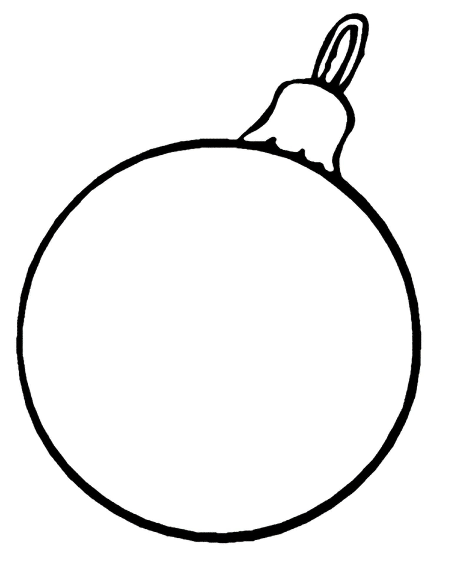 Christmas Ornaments Coloring Pages Printable With Ornament Diagnostic Immobilier Me
