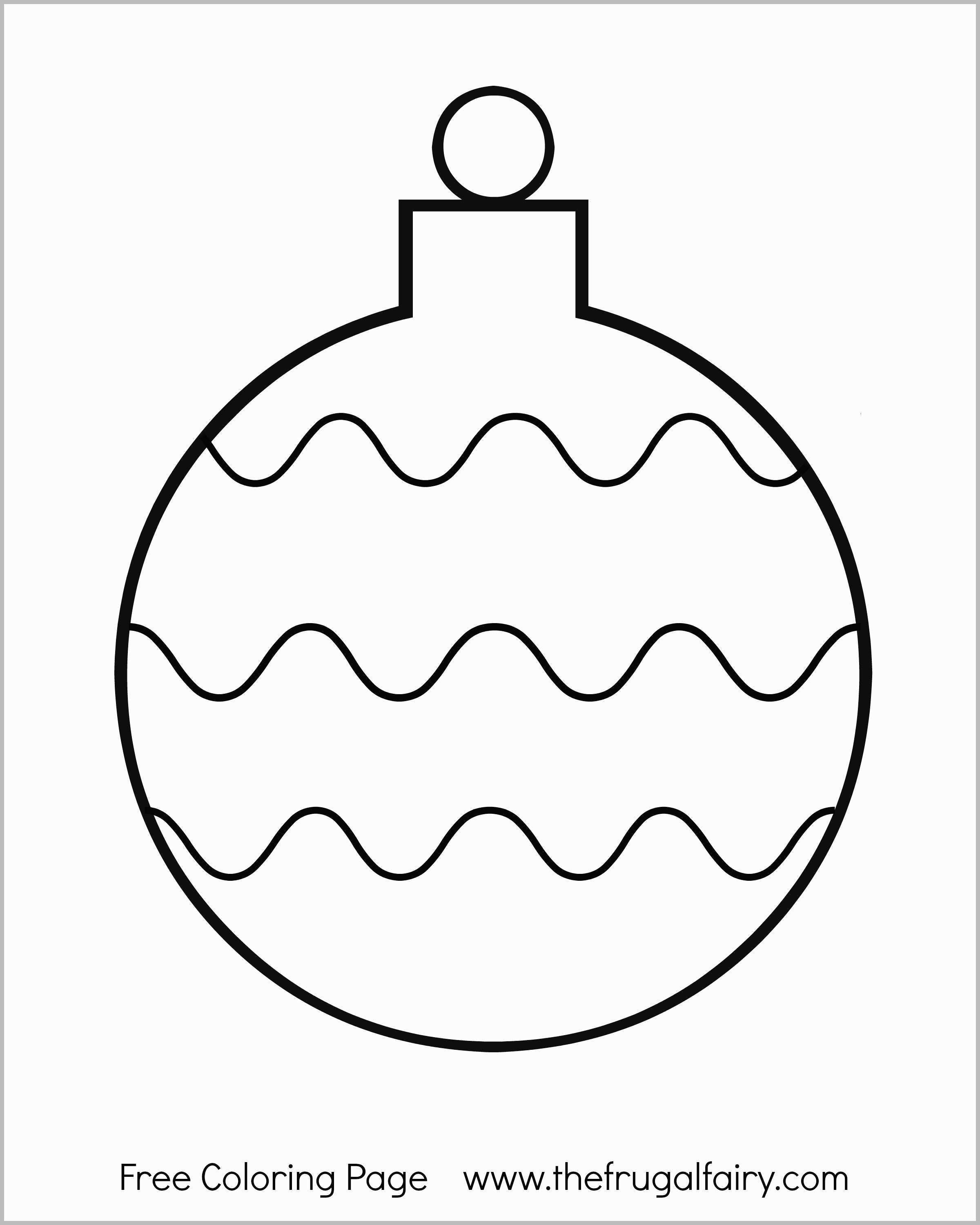 Christmas Ornaments Coloring Pages Printable With Ornament Marvelous