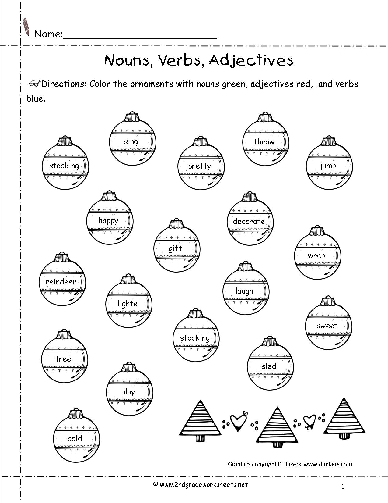 Christmas Reading Coloring Sheets With Worksheets And Printouts