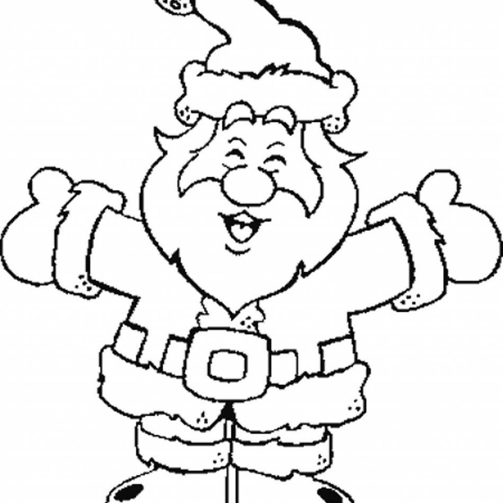 Christmas Santa Claus Coloring Pages With Hurry Up And Checkout The Free Printable Sleigh