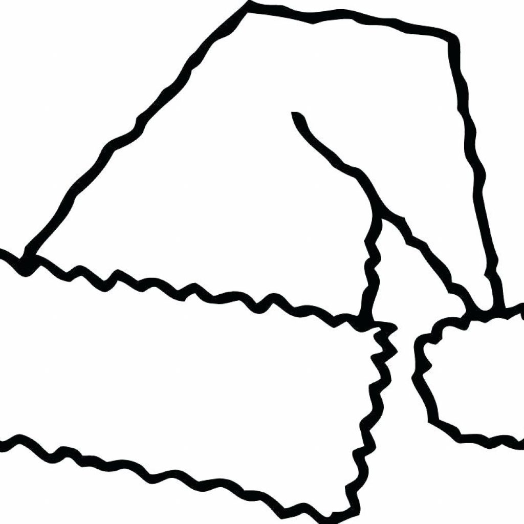 Christmas Santa Hat Coloring Page With Images Free Pages Part 3 And