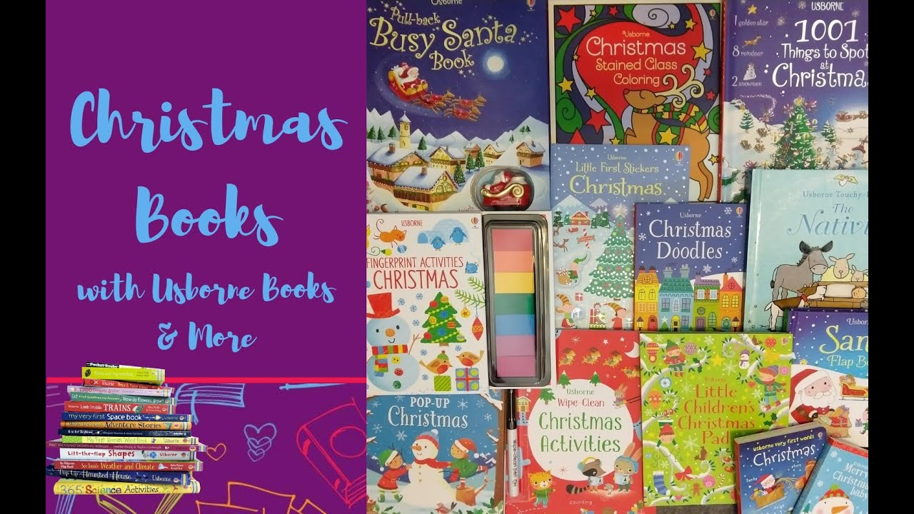 Christmas Stained Glass Coloring Usborne With Books More YouTube