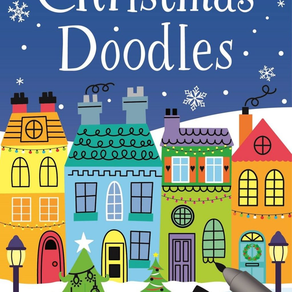 Christmas Stained Glass Coloring Usborne With Find Out More About Doodles Write A Review Or Buy