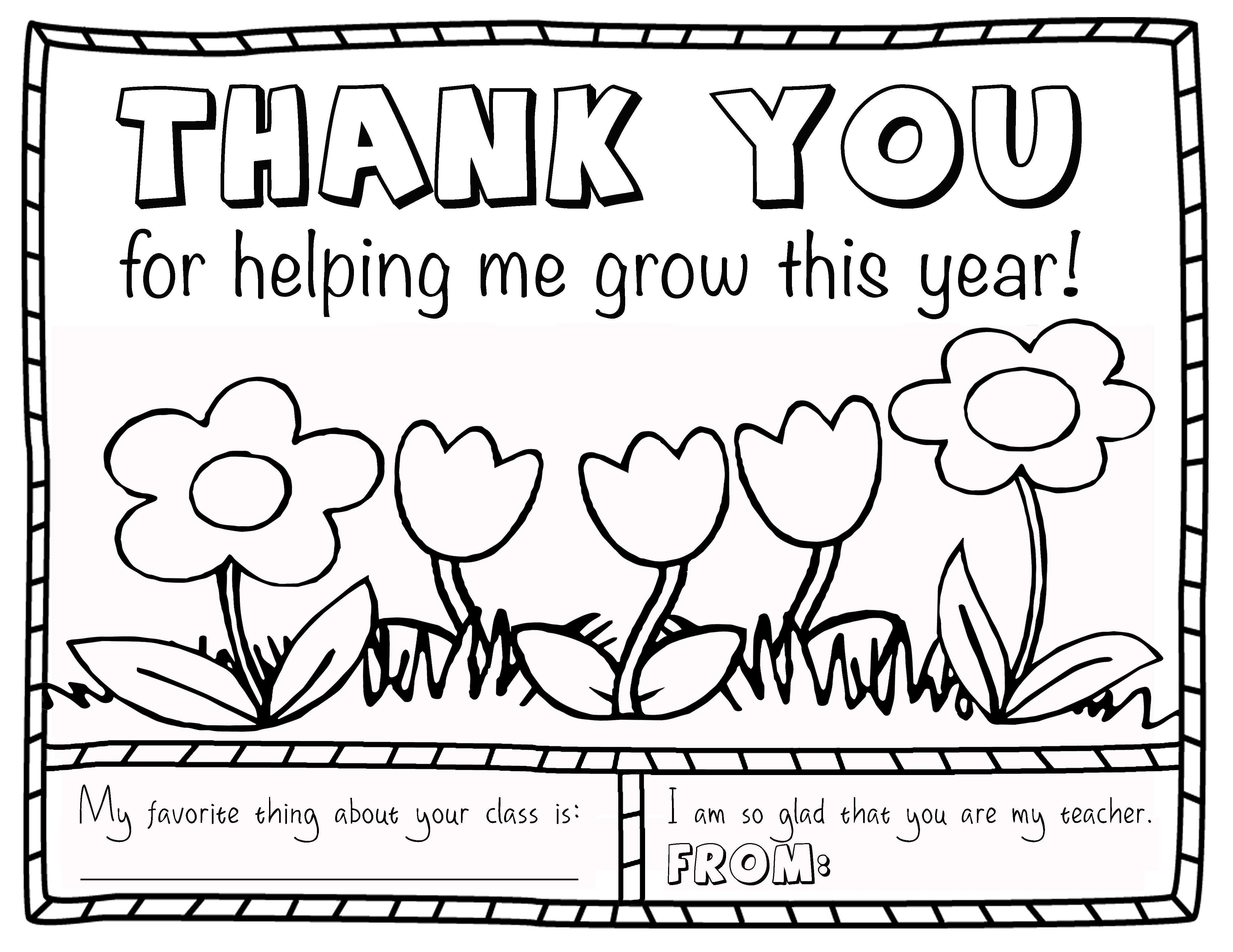 Christmas Thank You Coloring Pages With Merry Teacher Inspirational