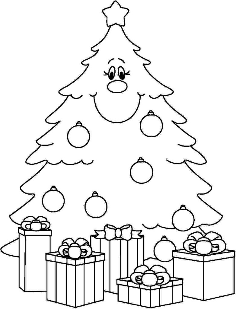 Christmas Tree Coloring Pages With 2015 Wallpapers Images Photos Best Of