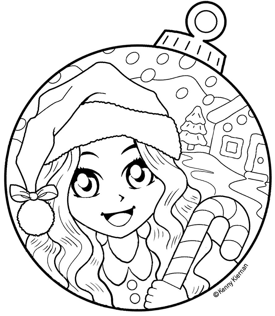 Christmas Vacation Coloring Book With Kenny K Freebee KNUTSELEN Pinterest