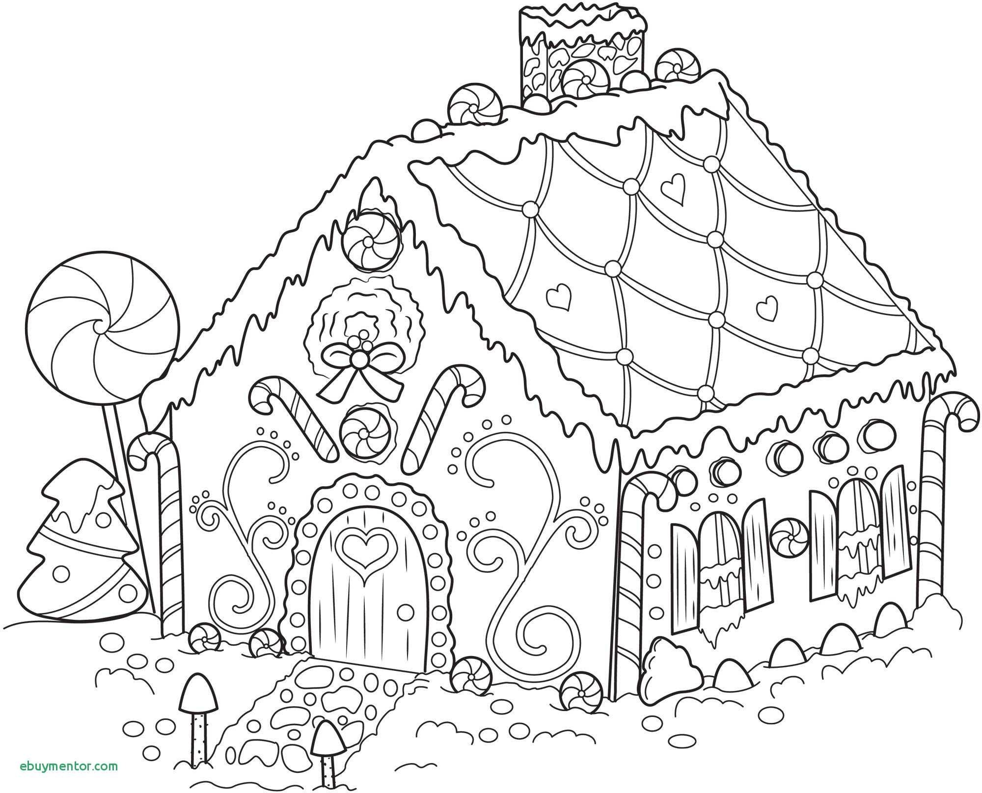 Christmas Village Coloring With Activity Pages New