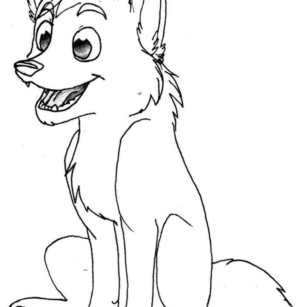 Christmas Wolf Coloring Pages With For Kids 7 11984
