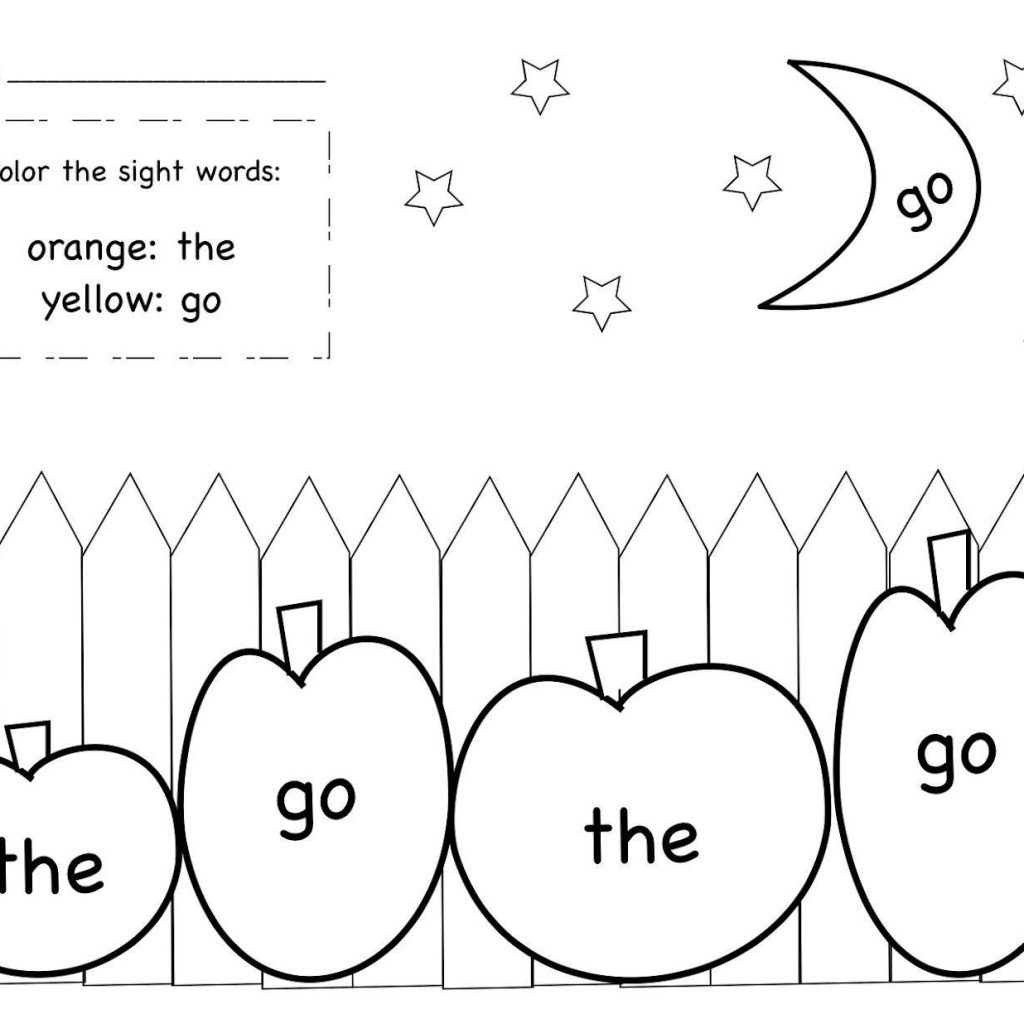 Christmas Words Coloring Pages With Sight Word Colouring For Kids Awesome