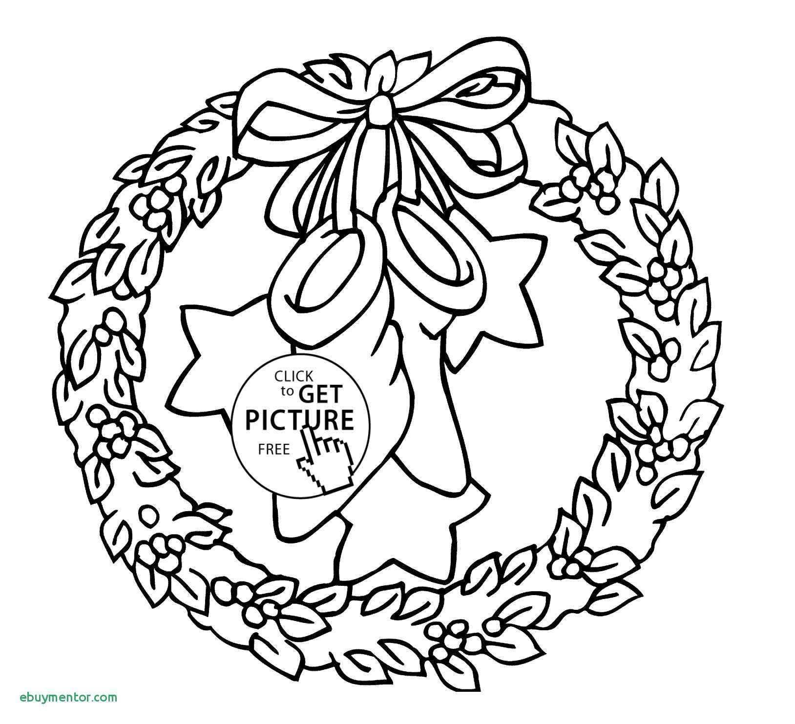 Christmas Wreath Coloring Pages For Adults With Page Shapes Worksheet Awesome