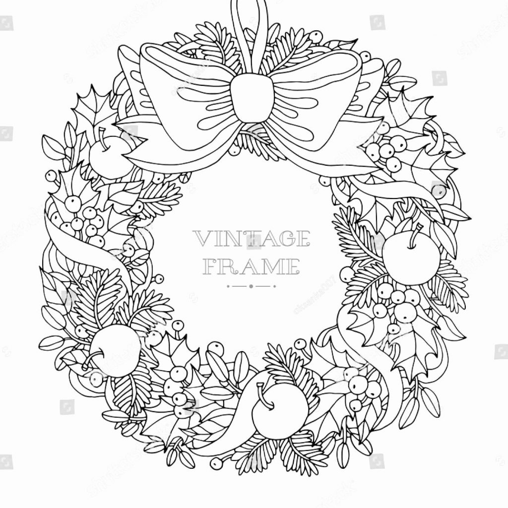 christmas-wreath-coloring-pages-to-print-with-winter-sports-lovely