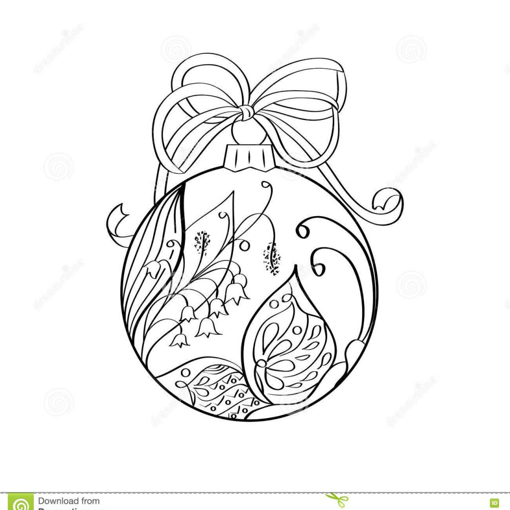 christmas-zentangle-coloring-pages-with-vector-ball-summer-ornament-inside-butterfly-and