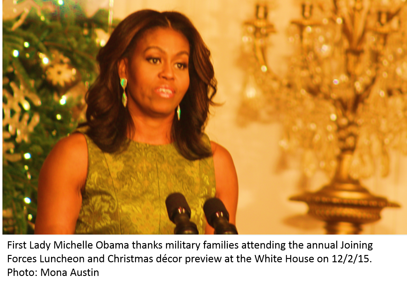 Colored Christmas Karla Winfrey With FIRST LOOK White House Previews Its Decked Halls To Kick Off The