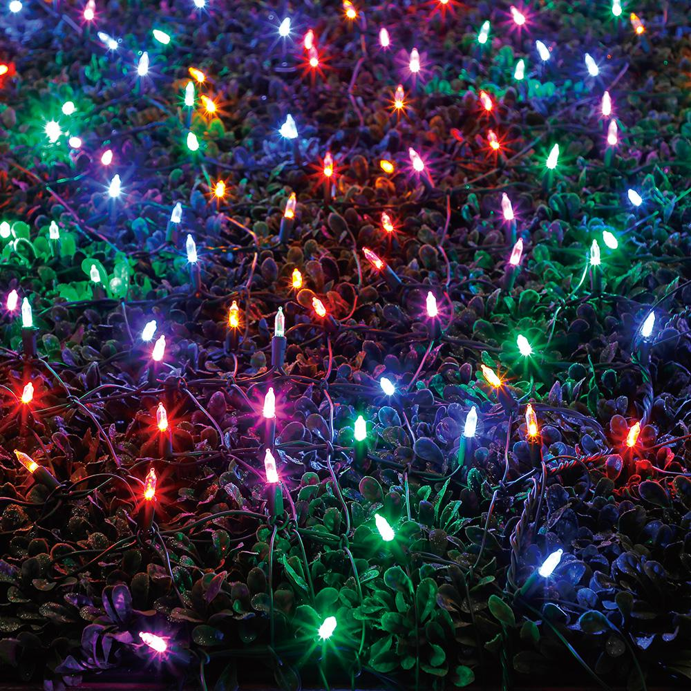 Colored Christmas Net Lights With LED Constant Commercial Residential