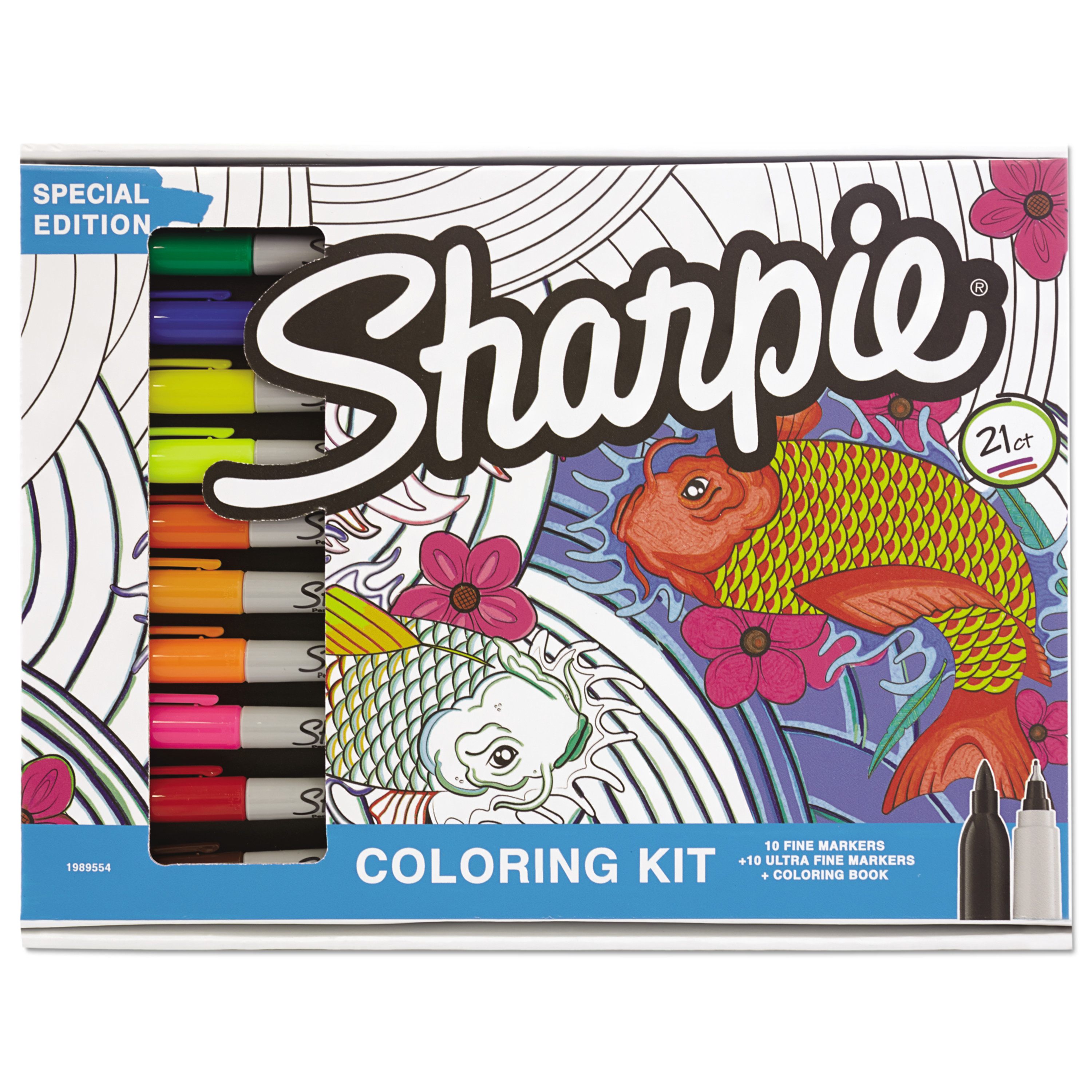 Coloring Christmas Lights With Sharpie Adult Kit Aquatic Theme Book 20