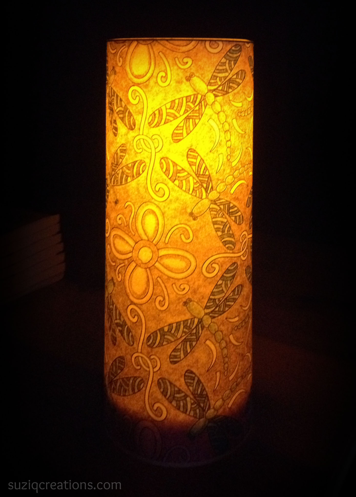 Coloring Christmas Lights With Sharpie Illuminate Your Pages Craft Project SuziQ Creations