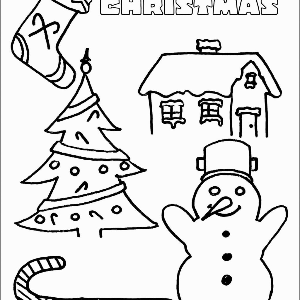 Coloring Pages For Merry Christmas With Color Ironenclave Com
