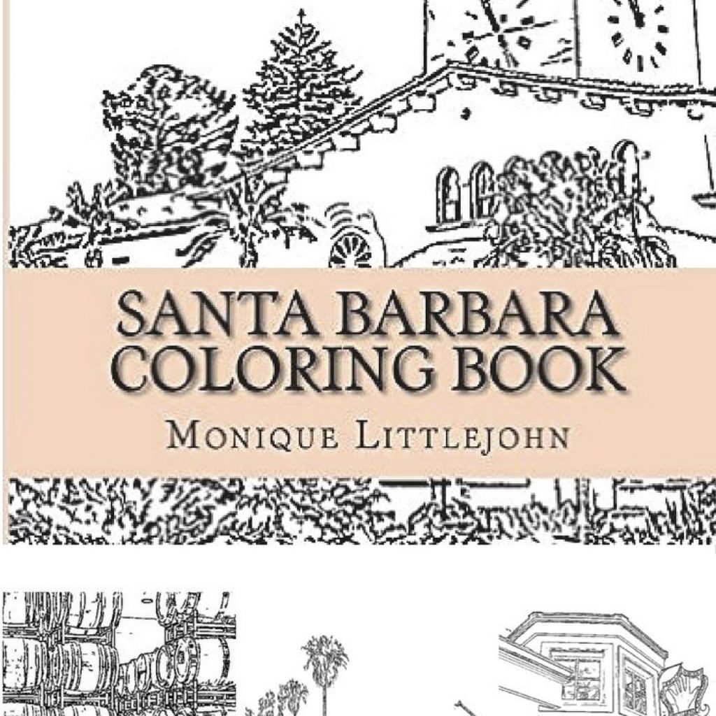 Coloring Santa Barbara With 12 Best Books And Illustrations Images On Pinterest