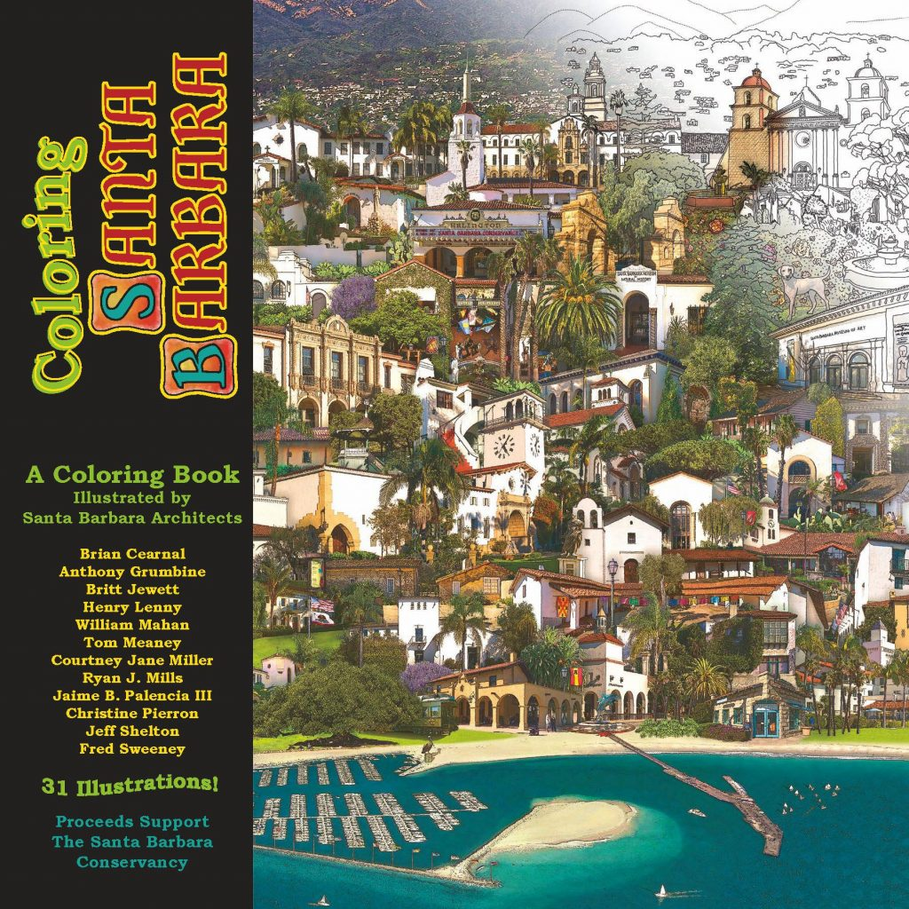Coloring Santa Barbara With South Coast Conservancy Creates Unusual Educational And Fundraising