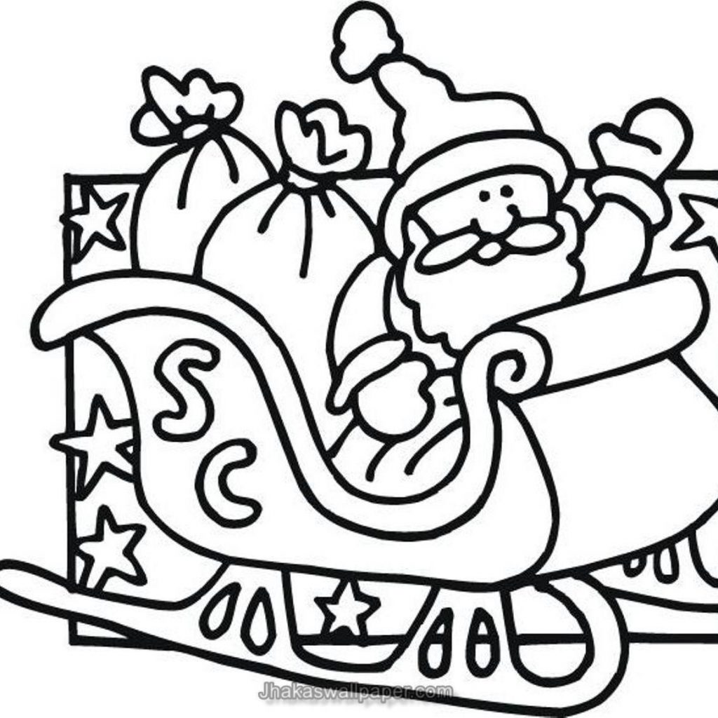 Coloring Santa Claus With Pages Www Org