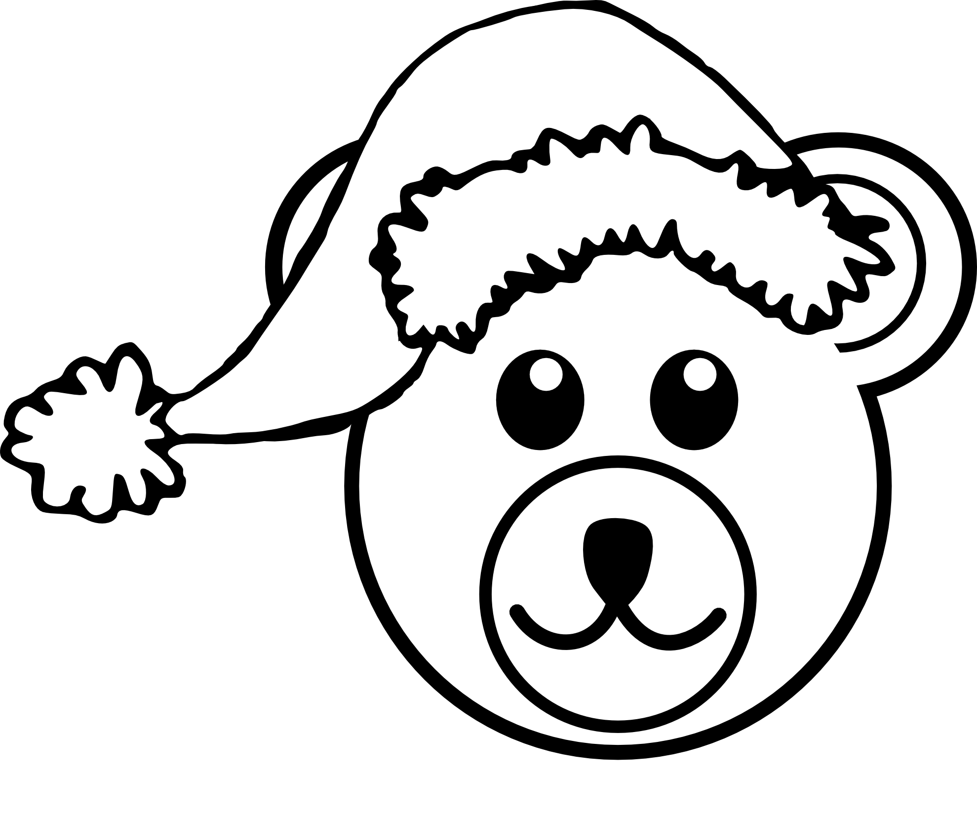 Coloring Santa Hats With Free Hat Clipart Download Clip Art On