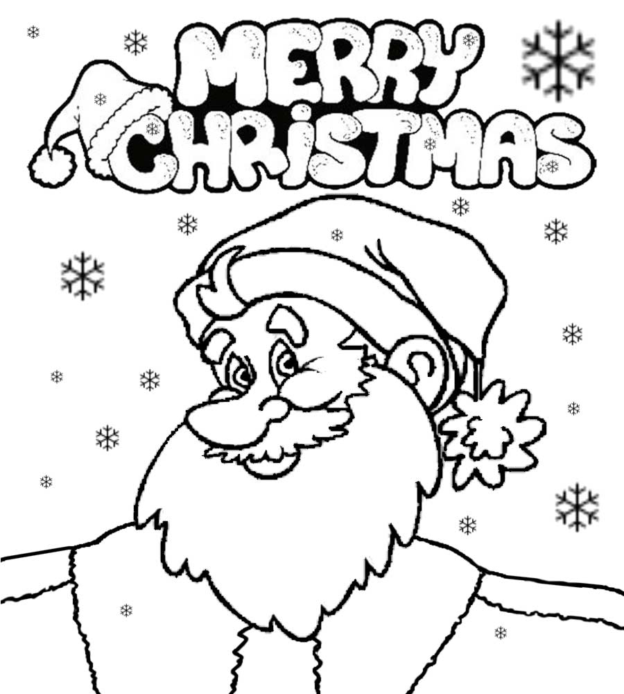 cute-santa-claus-coloring-pages-with-new-hat-sheet-collection