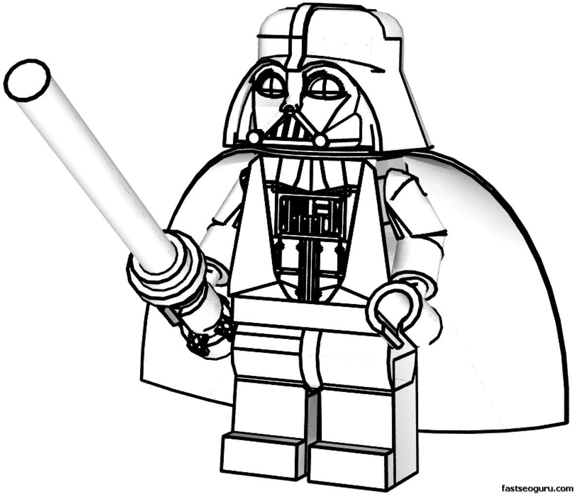 Darth Vader Christmas Coloring Pages With Star Wars 2017 Dr Odd Pinterest