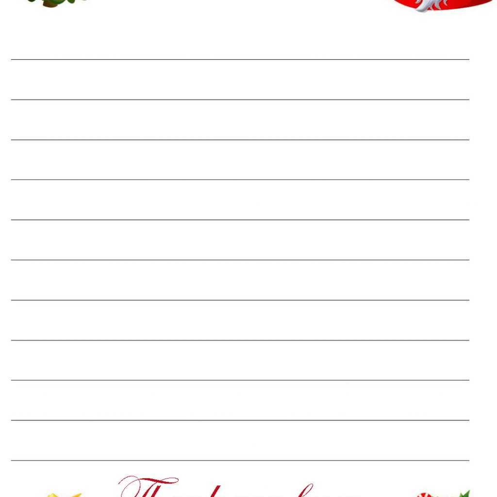 Dear Santa Coloring Page With XMAS COLORING PAGES