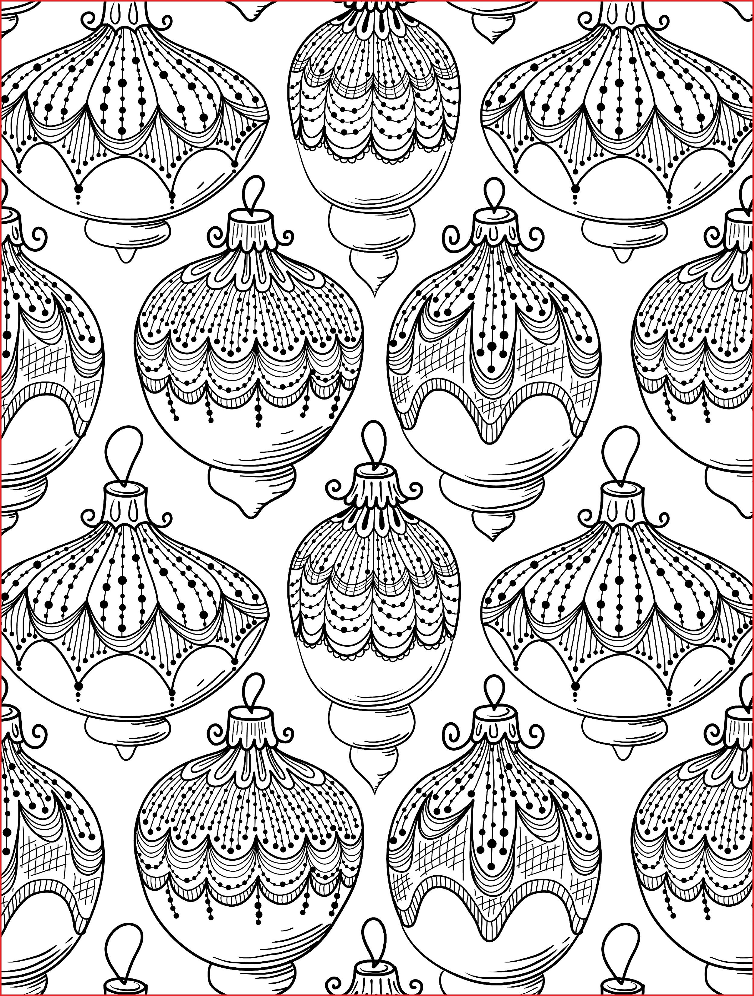 Detailed Christmas Coloring Pages For Adults With Adult 27583 Lovely Free Printable