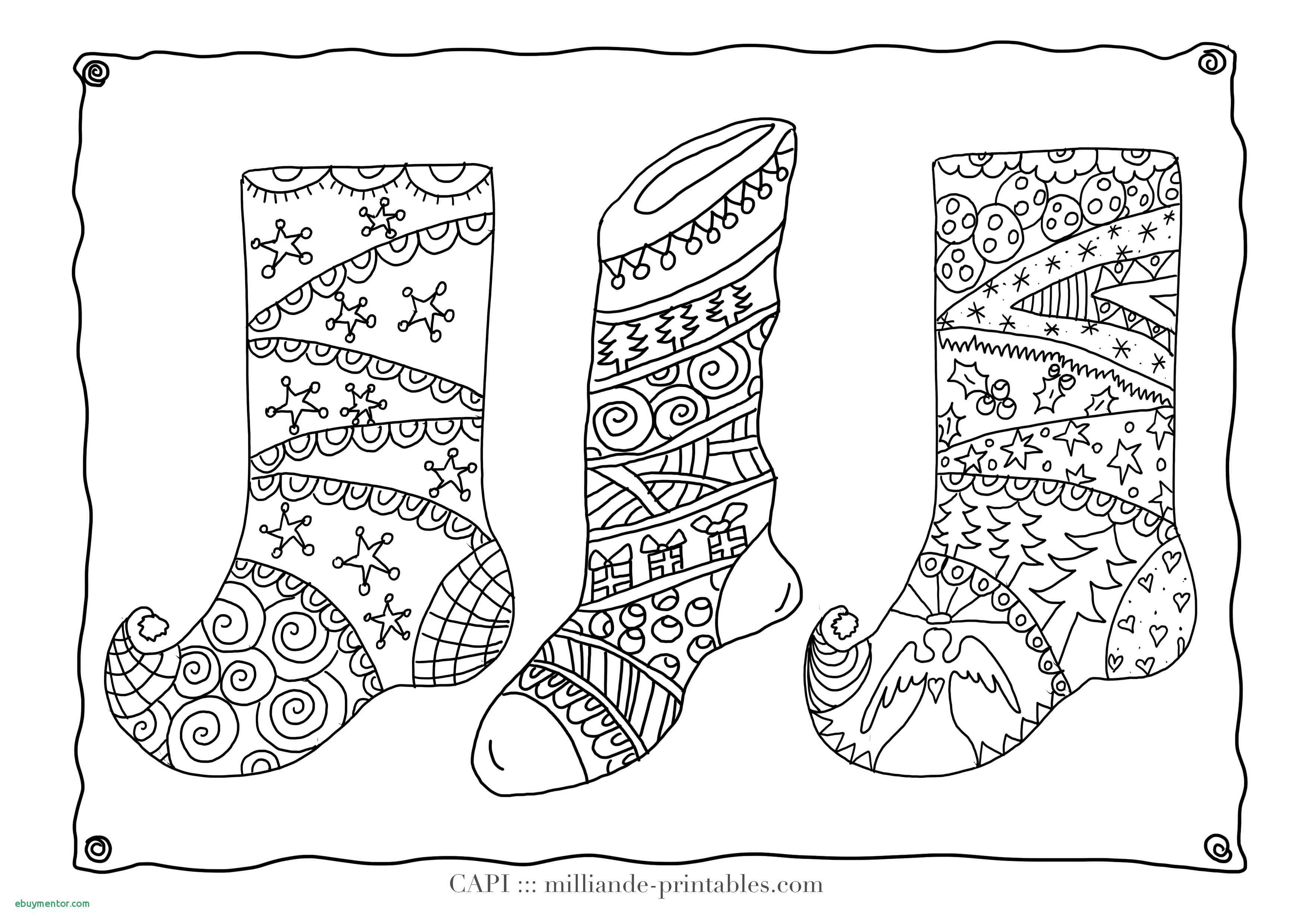 Detailed Christmas Coloring Pages For Adults With Free
