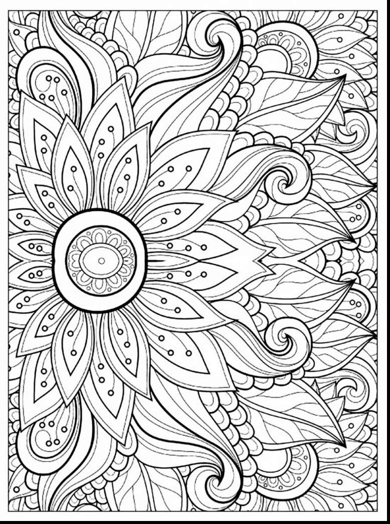 Difficult Christmas Coloring Pages For Adults With Printable