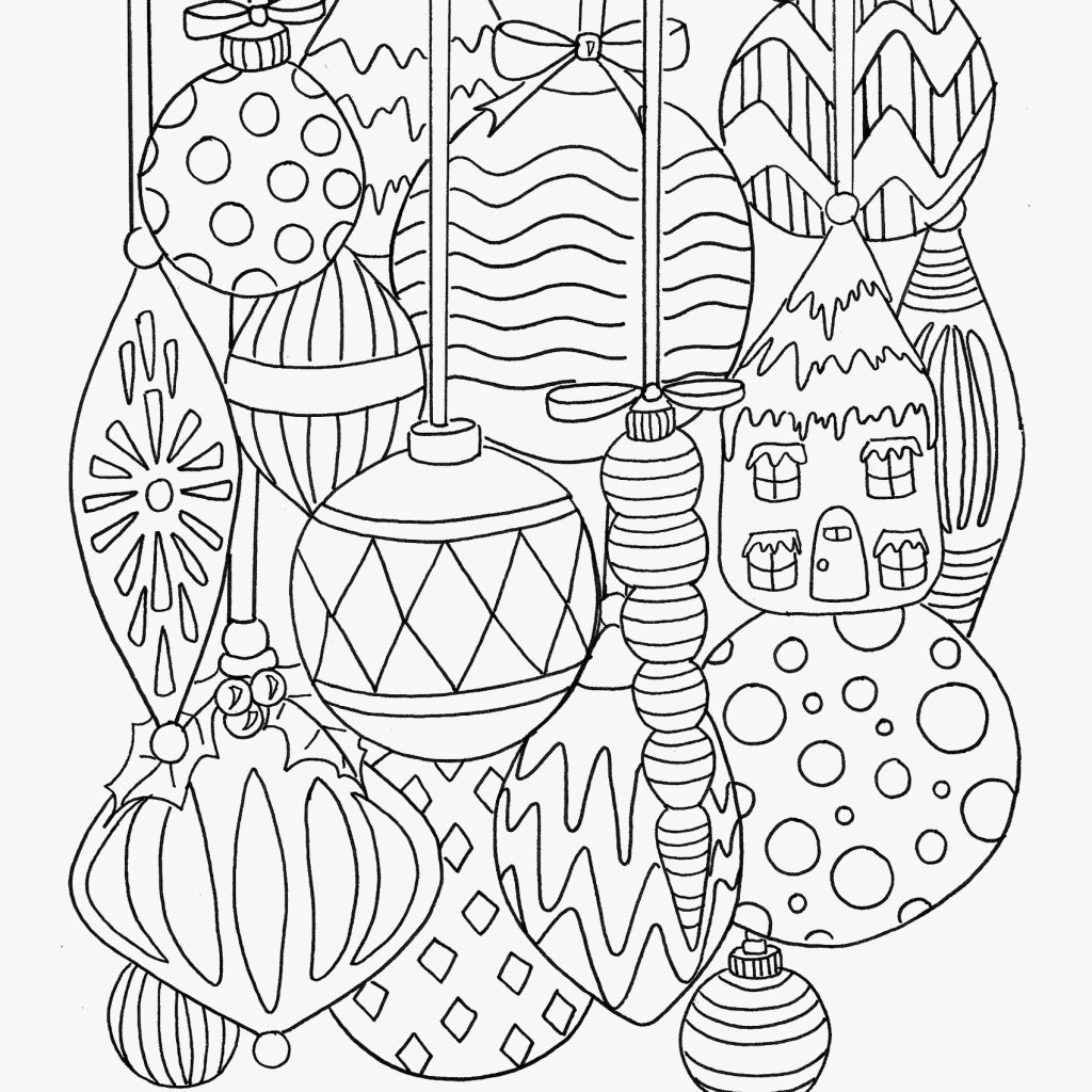 Difficult Christmas Coloring Pages For Adults With Velvet Books Kids