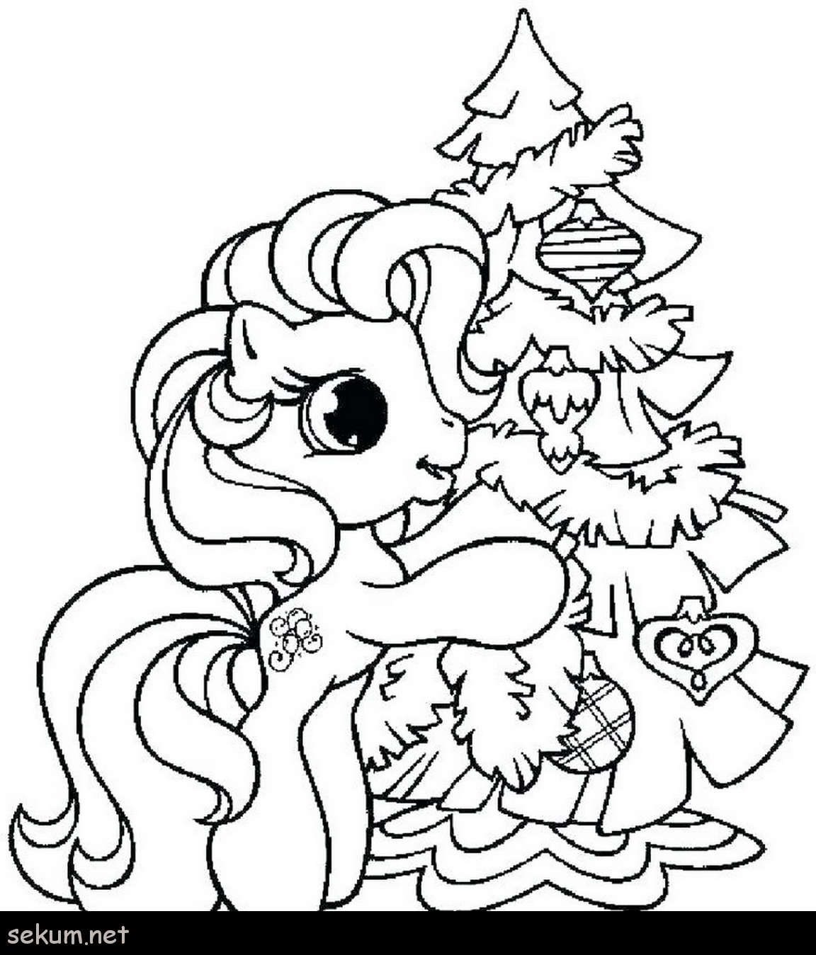 Disney Princess Christmas Coloring Pages Printable With Color Free Packed