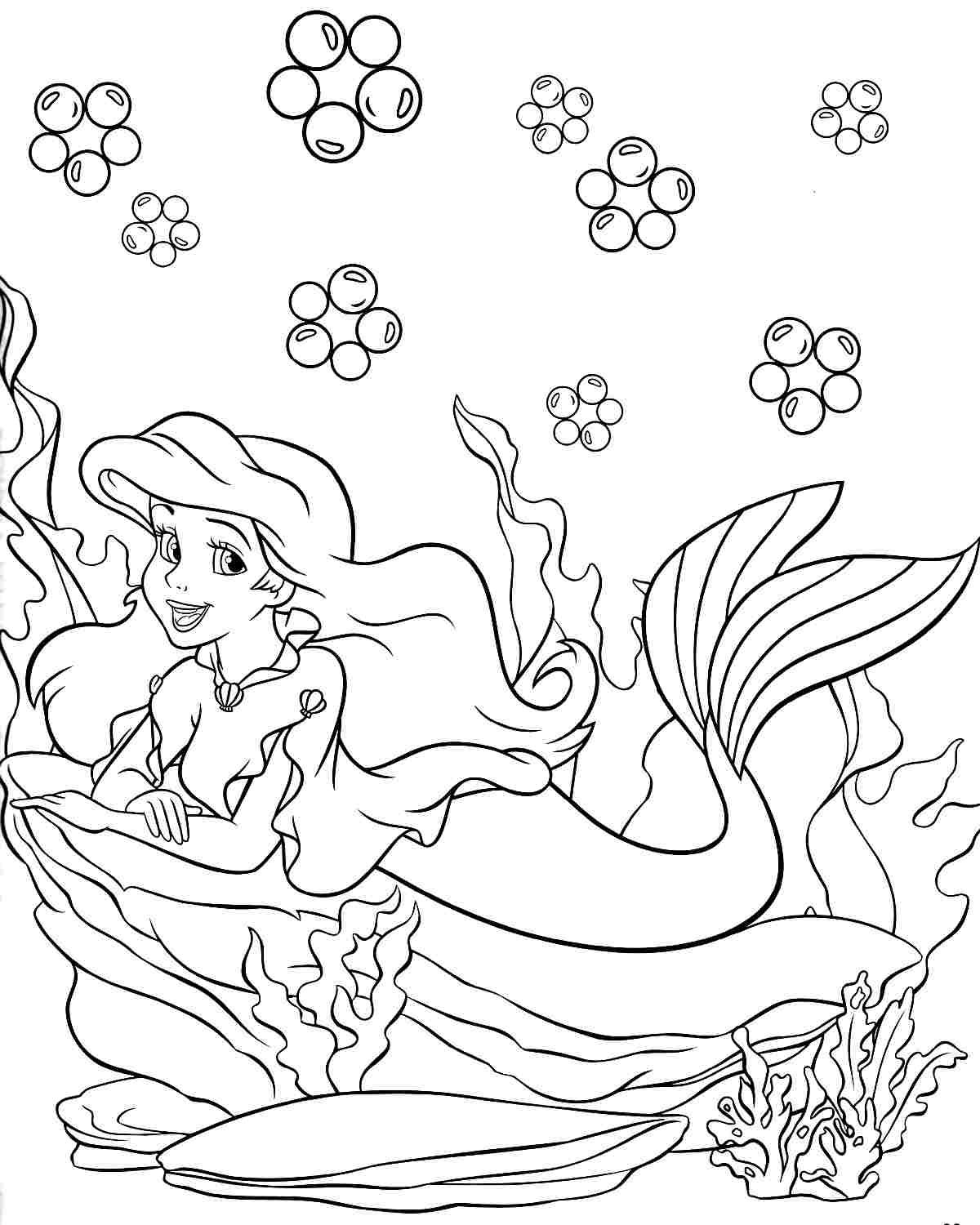 Disney Princess Christmas Coloring Pages Printable With Pin By Yooper Girl On Color Sea Mermaid Pinterest