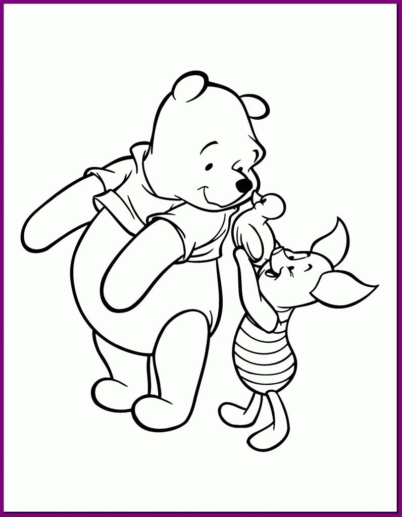 Eeyore Christmas Coloring Pages With Disney Refrence Marvelous