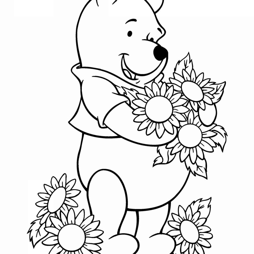 Eeyore Christmas Coloring Pages With Page Free Printable
