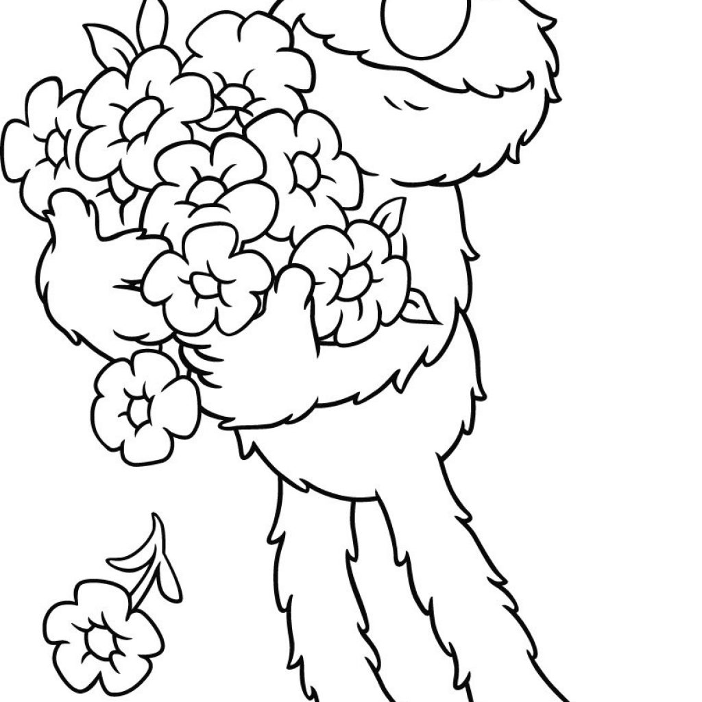 Elmo Christmas Coloring Pages Printable With Free For Kids