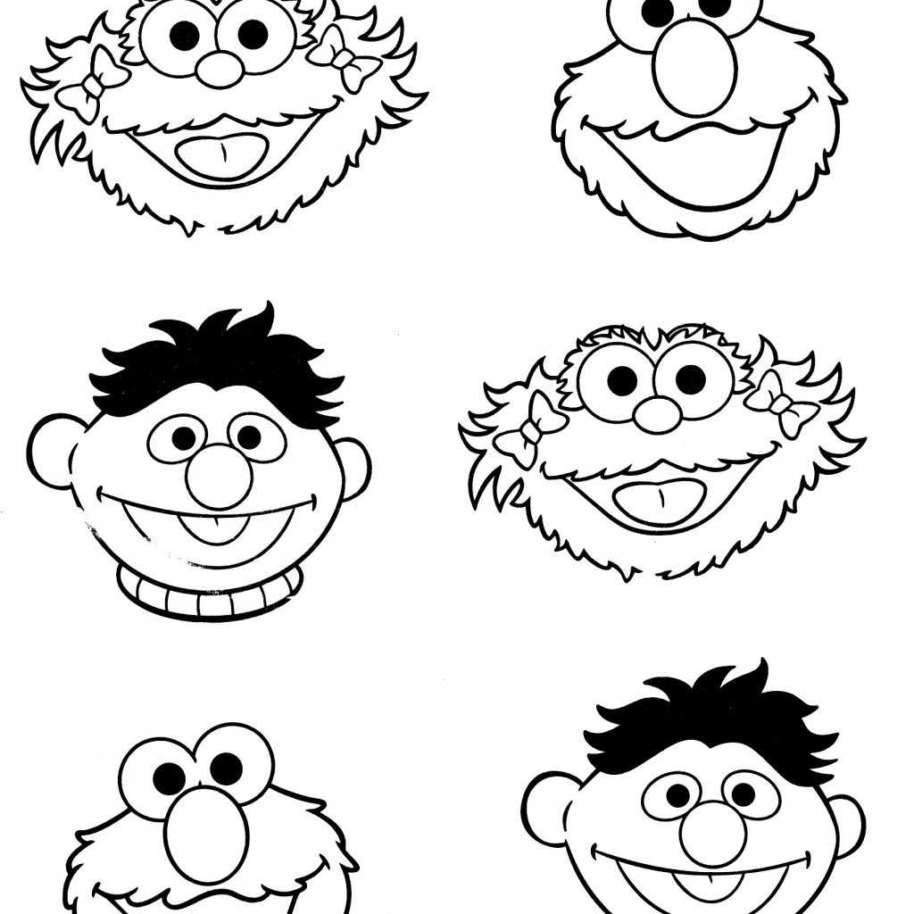 Elmo Christmas Coloring Pages Printable With Inspirationa