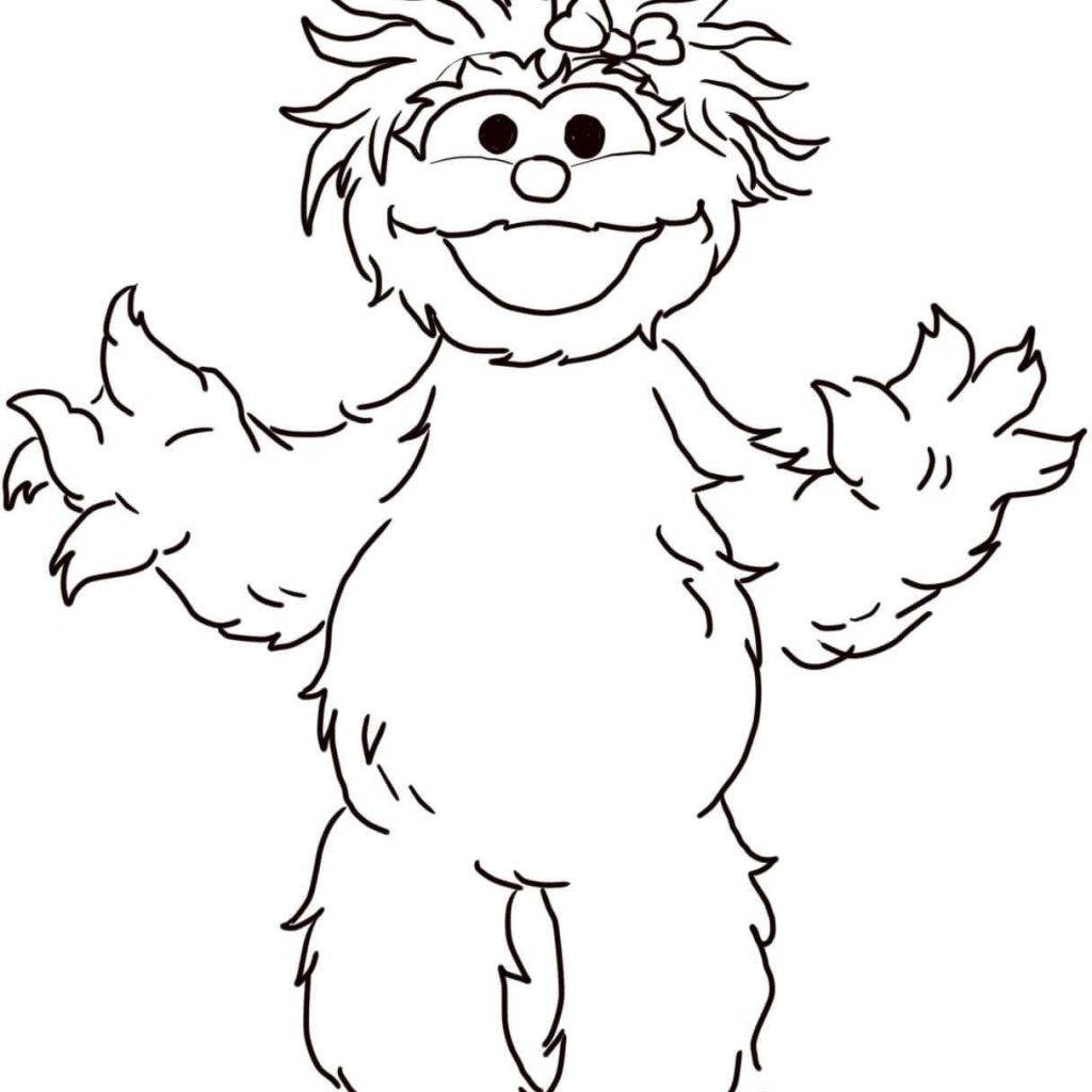 Elmo Christmas Coloring Pages With Printable Www Topsimages Com