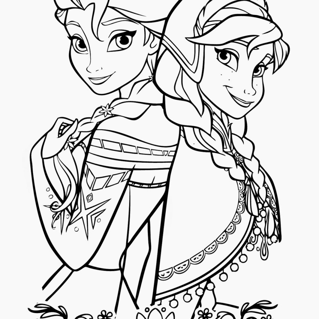 Elsa Christmas Coloring Pages With 15 Beautiful Disney Frozen Free Instant Knowledge