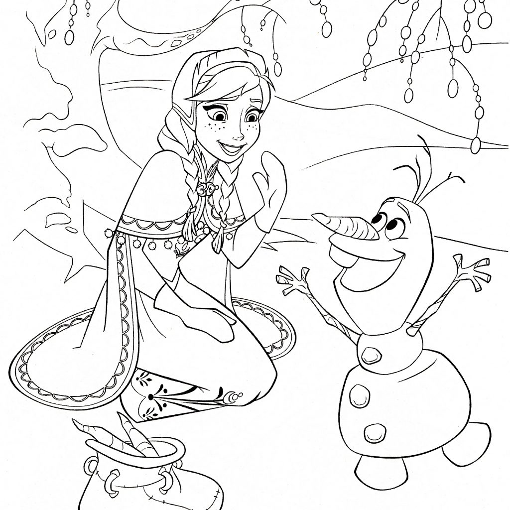 Elsa Christmas Coloring Pages With Awesome Princess Collection Printable