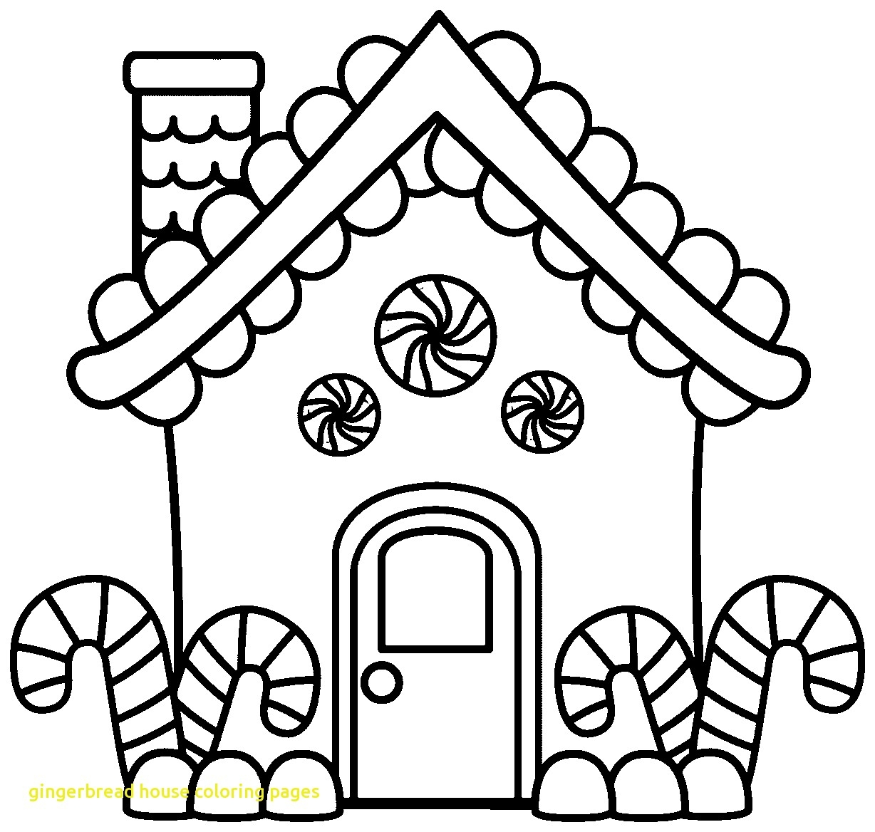Free Christmas Coloring Pages Gingerbread House With Unique Disney Gallery