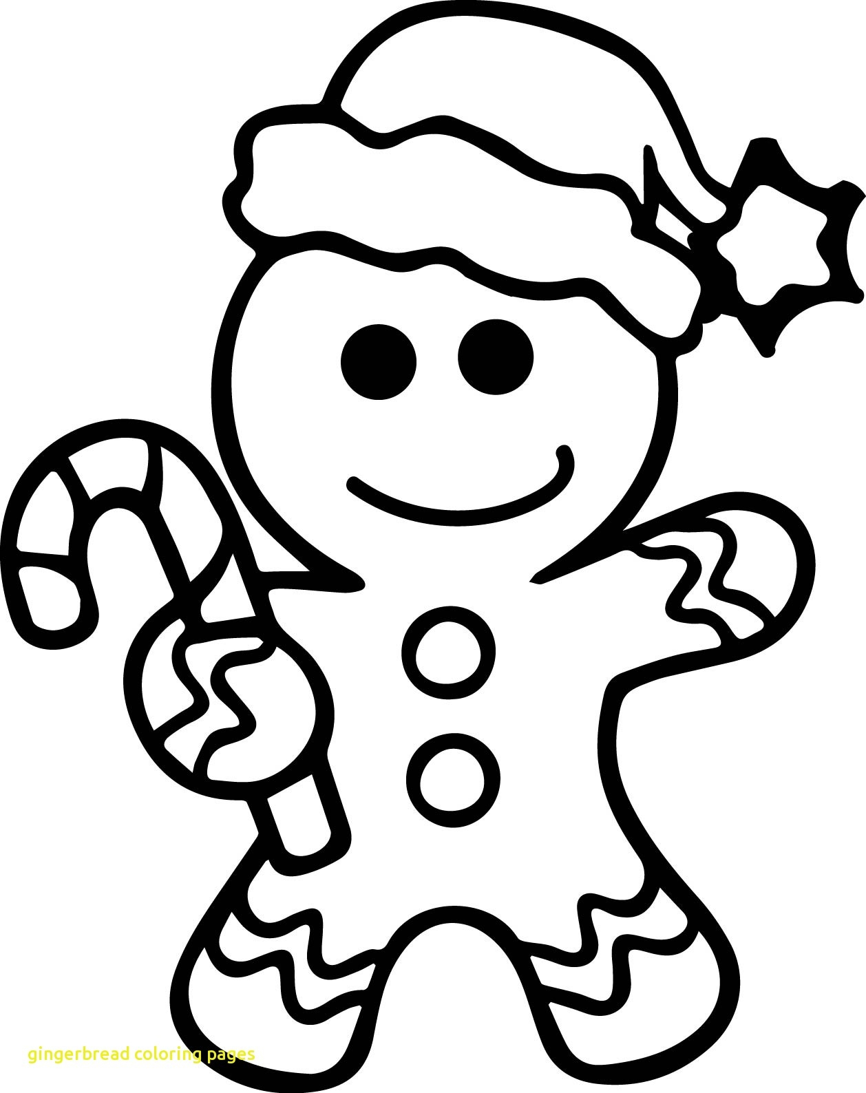 Free Christmas Coloring Pages Gingerbread Man With Download Books