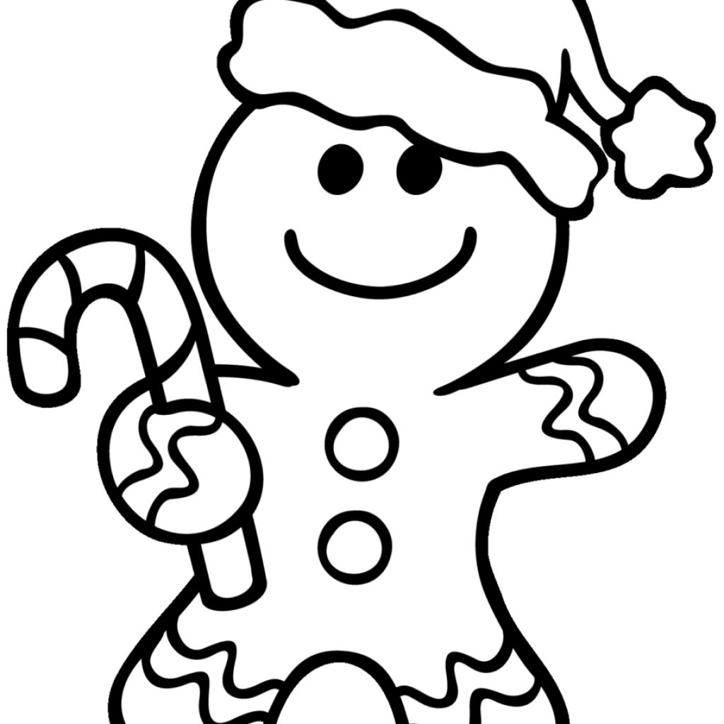 Free Christmas Coloring Pages Gingerbread Man With Unique Disney House Gallery