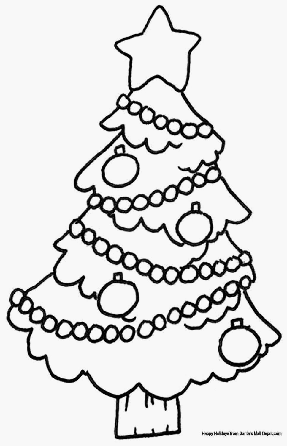 Free Christmas Coloring Pages With Pictures