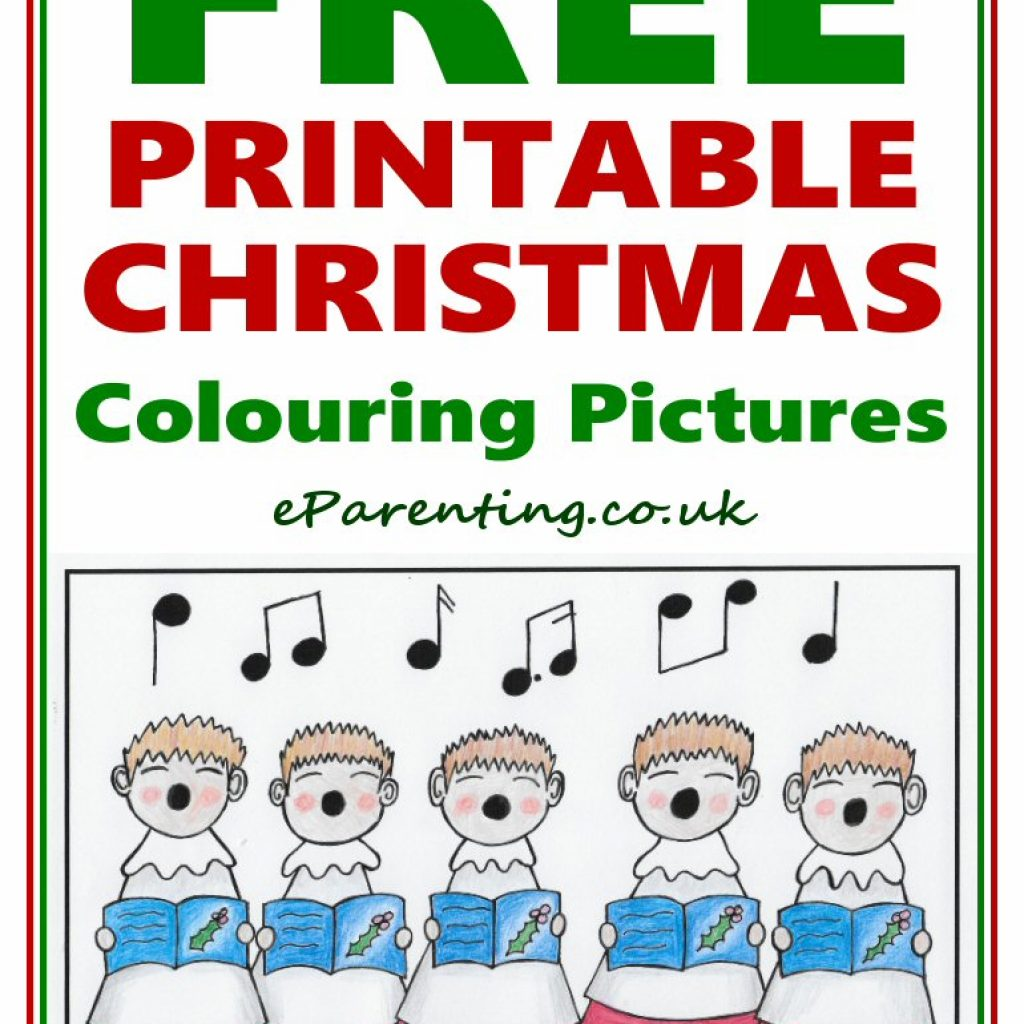 Free Christmas Colouring Pages Uk With Printable Coloring Pictures