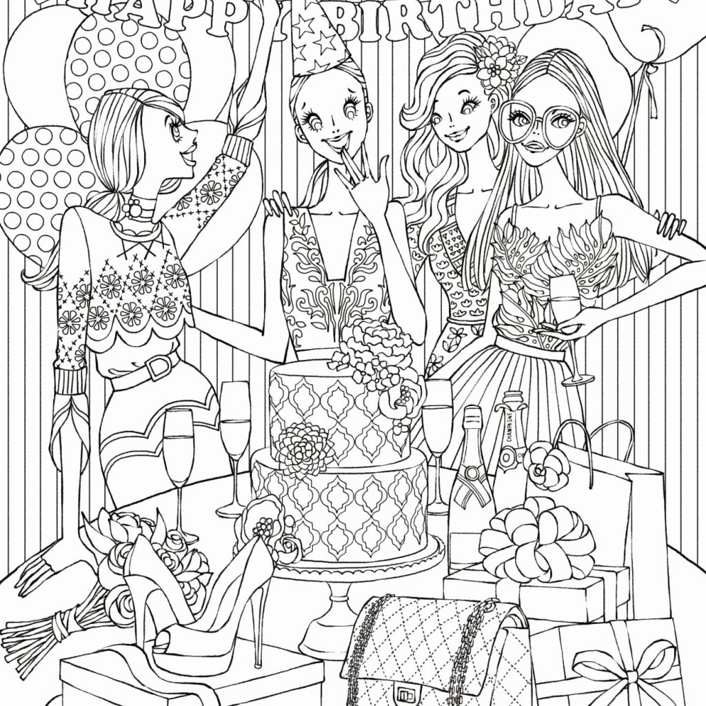 Free Coloring Pages Com Christmas With Tree Page Awesome