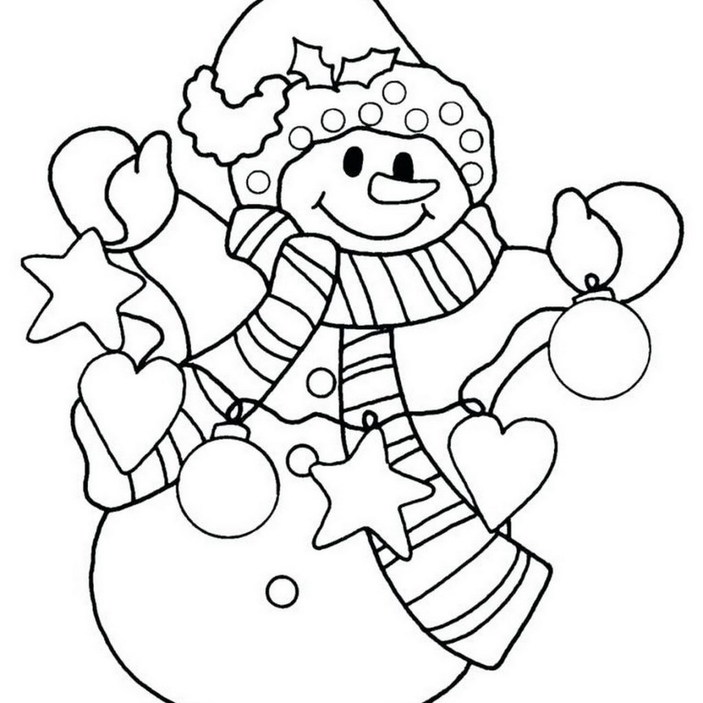 Free Disney Christmas Coloring Pages Printable With